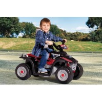 Peg-Perego Акумулаторно бъги POLARIS SPORTSMAN 400 NERO
