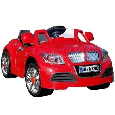 28А AUDI 12V червено - акумулаторна кола с дистанционно Moni