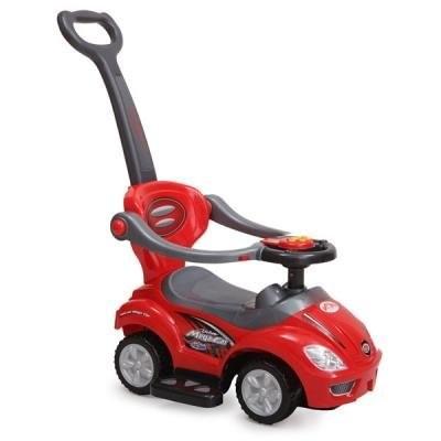 Кола за бутане с родителски контрол 382 - червена