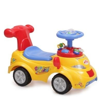 Кола за яздене 378 - жълта
