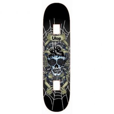 Скейтборд SPARTAN Utop Skull - NET SP 28303