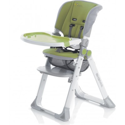 Детско столче за хранене Sigma Jane зелено