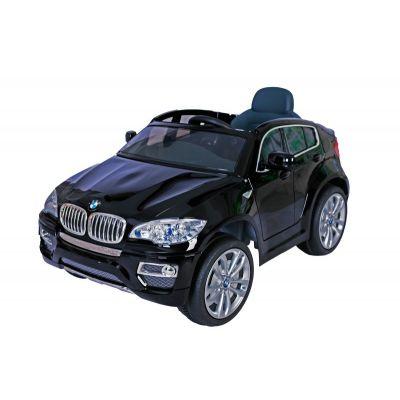 Лицензирана BMW X6 металик 12V Акумулаторна кола - черна
