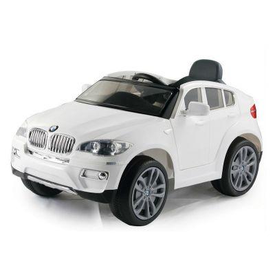 Лицензирана BMW X6 металик 12V Акумулаторна кола - бяла