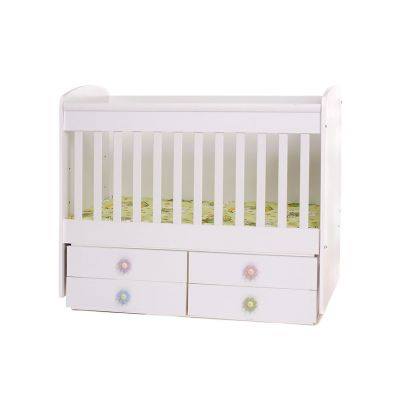 Dizain Baby - детско легло Деси 60/120 см. - бяло