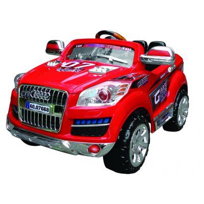 Акумулаторен джип AUDI Q7 R - червен