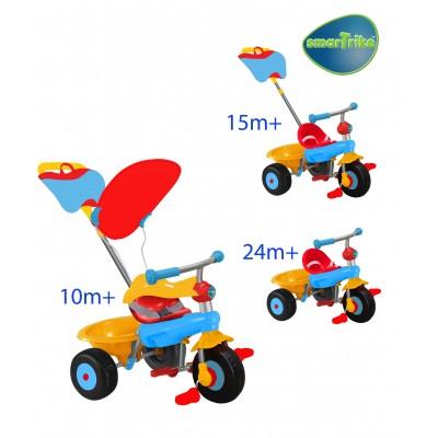 Smart Trike - Триколка 3 в 1 Канди/Candy - червено синя 011013