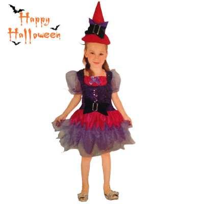 Детски карнавален костюм Вещица