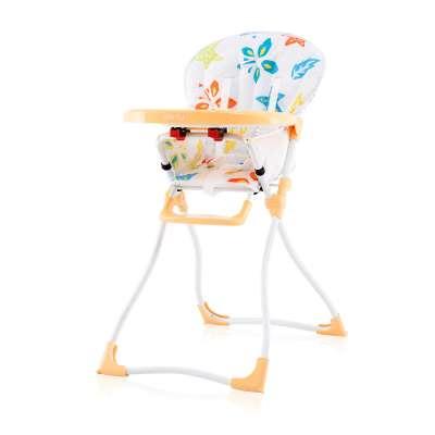 Baby Max - Столче за хранене Парти жълто