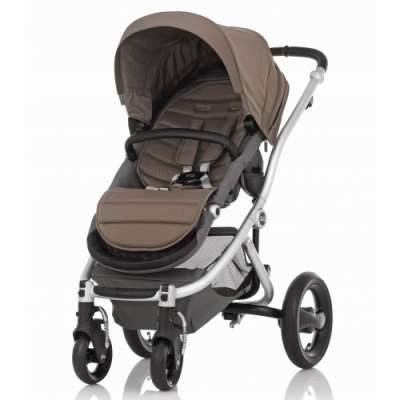 Бебешка количка Britax Affinity Fossil Brown - Silver