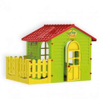 Mochtoys детска къщичка за игра с ограда - 10839