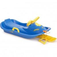 Детска шейна Racer-синя