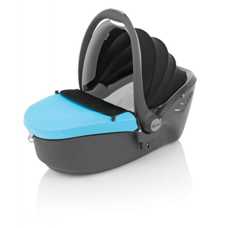 britax r mer baby safe sleeper blue. Black Bedroom Furniture Sets. Home Design Ideas