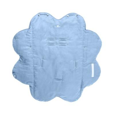 Бебешко одеалце Nore Wallaboo - синьо