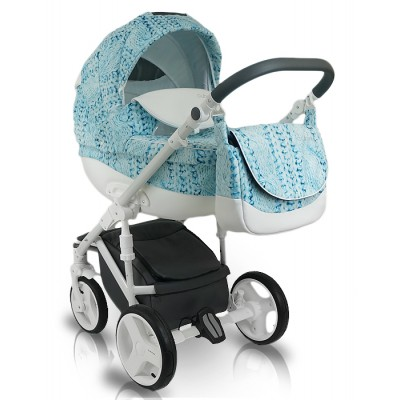 Бебешка количка Bexa Cube 2в1 2016 - цвят CU3 30519
