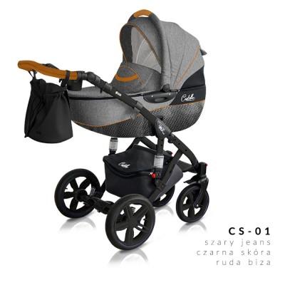 Комбинирана количка Milu Kids Castello 2в1 - цвят 01
