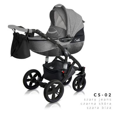Комбинирана количка Milu Kids Castello 2в1 - цвят 02