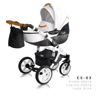 Комбинирана количка Milu Kids Castello 2в1 - цвят 03