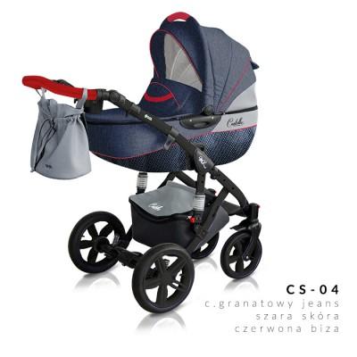 Комбинирана количка Milu Kids Castello 2в1 - цвят 04