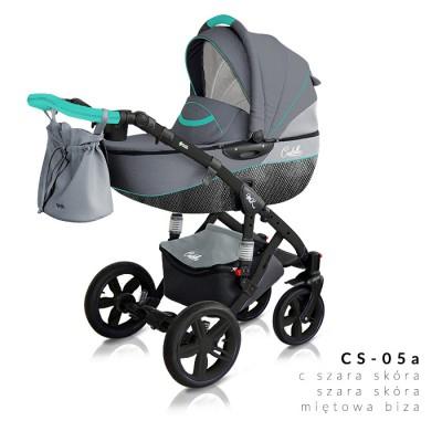 Комбинирана количка Milu Kids Castello 2в1 - цвят 05а 30558