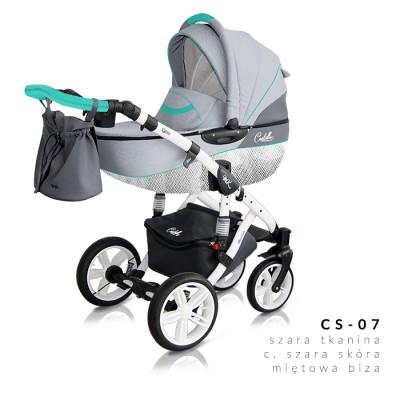 Комбинирана количка Milu Kids Castello 2в1 - цвят 07 30558