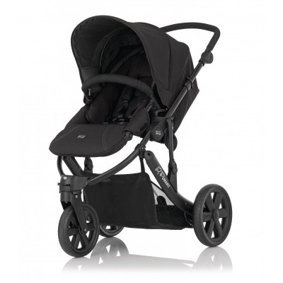 Бебешка количка Britax B-Smart 3 - Black Thunder