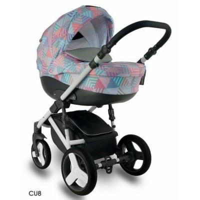 Бебешка количка Bexa Cube 2в1 - цвят CU8