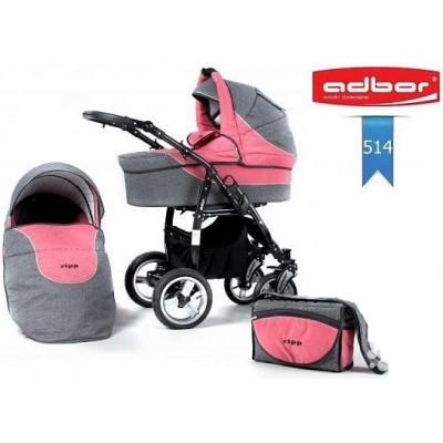 Бебешка количка Adbor Zipp 2в1 - цвят 514 30138-цвят 514