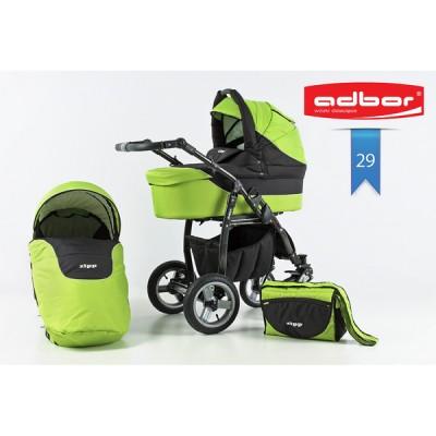 Бебешка количка Adbor Zipp 2в1 - цвят 29 30138-цвят 29