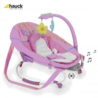 Шезлонг Leisure e-motion Butterflyy  Hauck