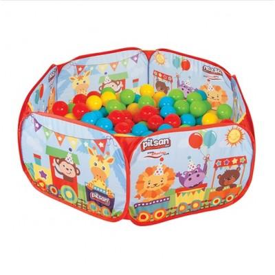 Детски сгъваем басейн с топки 6 см. (200 бр) 06413