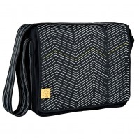 Чанта с аксесоари за бебе черна