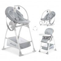 Стол за хранене Sit`n Relax 3в1 stretch grey