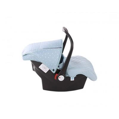Стол за кола 0+ (0-13 кг) Kikkaboo Dotty - Blue 31002020025