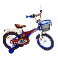 """Детско колело Racer 16"""" - синьо"""
