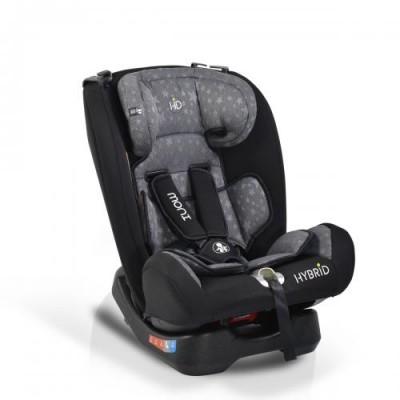 Детско столче за кола Hybrid Premium 0-36кг - Сиви звезди