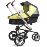 Njoy комбинирана количка Cangaroo - цвят Зелен