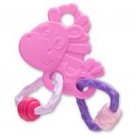 Гризалка кончето Хоп Троп (розов цвят) 3м+
