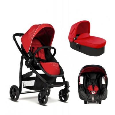EVO TRIO 3 in 1 Graco Комбинирана количка Chilli Red