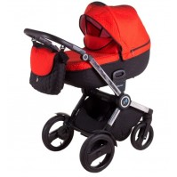 Бебешка количка Tako Jumper 4 2в1 - червена (15)
