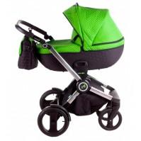 Бебешка количка Tako Jumper 4 2в1 - зелена (18)