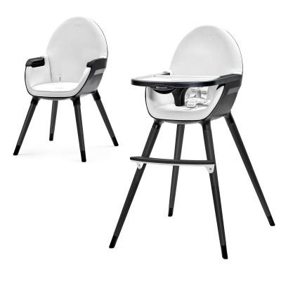 Столче за хранене 2 в 1 KinderKraft FINI - Черно KKFini-allblack
