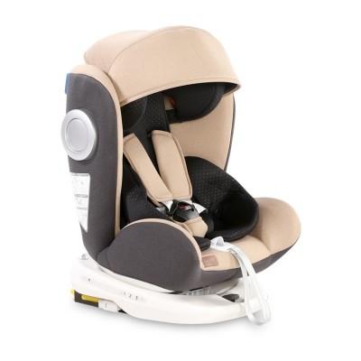 Стол за кола lusso sps isofix 0-36 kg beige&black 10071112017