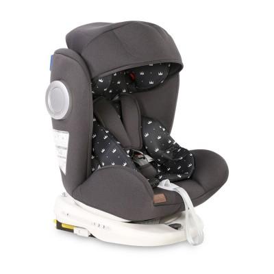 Стол за кола lusso sps isofix 0-36 kg black crowns 10071112013
