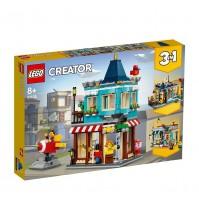 Магазин за играчки в града