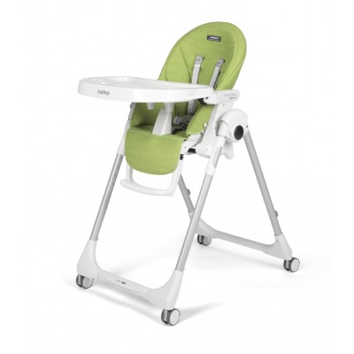 Стол за хранене Peg Perego 2в1 PRIMA PAPPA FOLLOW ME WONDER GREEN