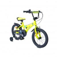 "Детски велосипед 16"" Devil Byox електриково зелен"