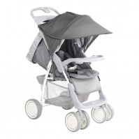 Сенник за детска количка тъмносиво
