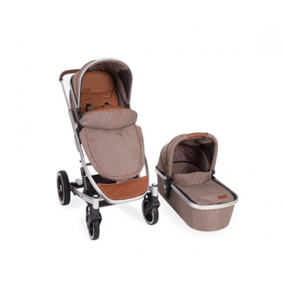 Комбинирана бебешка количка Divaina KikkaBoo 2в1 - Beige Melange 31001020062