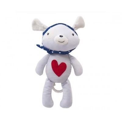 Музикална играчка за легло Red Heart LOVE ROME Kikka boo 31201010077